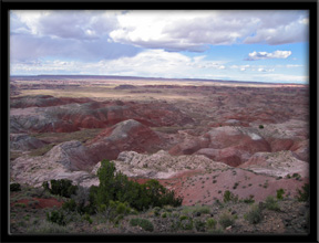 Kachina Point  Petrified Forest National Park