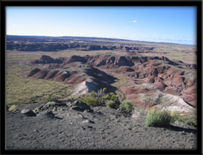 Chinde Point  Petrified Forest National Park