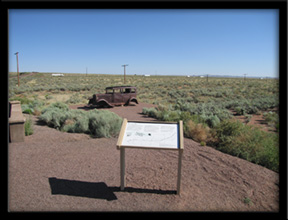 Route 66  Petrified Forest National Park