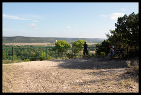 The Scenic Overlook at South Llano River State Park, Junction Texas