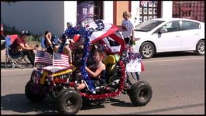 Fort Davis Parade Gocart